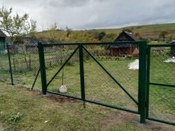 Установка изготовление ворот калиток