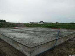 Устройство фундамента под загородное строительство