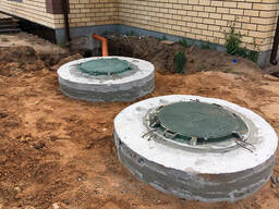 Монтаж канализации в частном доме и на даче.