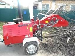 Утилизация порубочных остатков/ услуги дробилки древесины