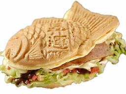 Вафельница для японских вафель (тайяки) Starfood 162003