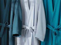 Вафельные халаты оптом Турция