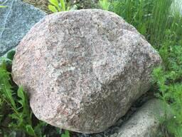 Валунный камень фр.70-100 см, цв. серый, коричневый, красный