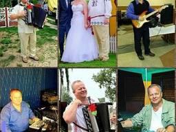 Ведущий тамада дискотека баян свадьбу юбилей крестины Минск