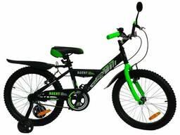 """Велосипед детский Amigo Agent 007 20"""" Черно-зеленый"""