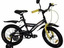 """Велосипед детский Amigo Agent 007 18"""" Черно-оранжевый"""