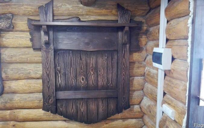 Вешалка для одежды под старину, в баню , частные дома...