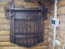 Вешалка для одежды под старину, в баню , частные дома. ..