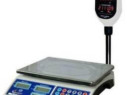 Весы торговые электронные со стойкой