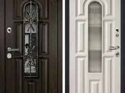 Входные металлические двери Металюкс, замер, установка