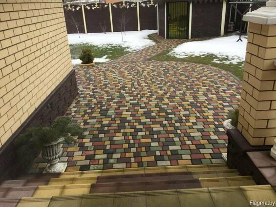 Вибропрессованная тротуарная плитка от производителя