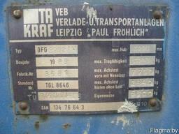 Вилочный погрузчик Takraft DFG 3202 1989г