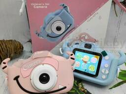 (VIP качество) Детский фотоаппарат Childrens Fun Camera Моя первая селфи камера 2. ..