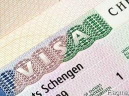 Виза. Шенген. Помощь в оформлении.