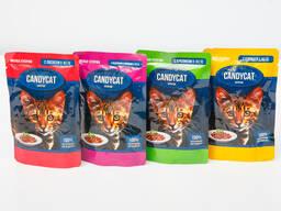 Влажный корм для кошек Candycat 24*85гр.