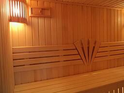 Внутренняя отделка и наружная отделка Бани сауны парной