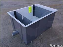 Водомерные ящики с тонкостенными водосливами