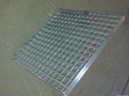 Водоприемная решетка из нержавейки AISI304, покрытия лотков