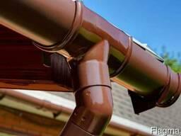 Водосточная система для кровли и крыши дома и дачи