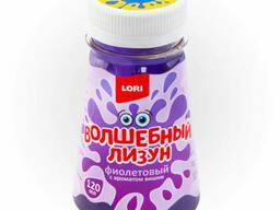 """Волшебный лизун """" Фиолетовый с ароматом вишни"""", 120мл."""