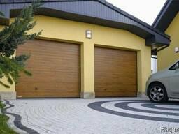 Ворота гаражные Alutech, откатные, распашные