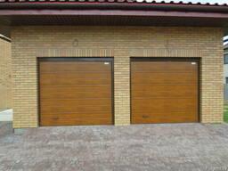 Ворота гаражные Алютех