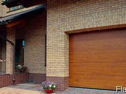 Ворота гаражные секционные Алютех