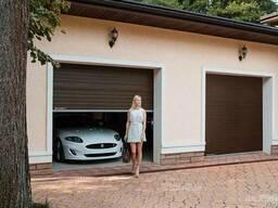 Ворота гаражные секционные c цепным приводом
