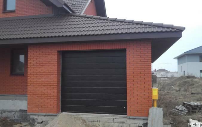 Ворота гаражные секционные подъемные. Рассрочка (0%)