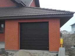 Ворота гаражные секционные подъемные. Рассрочка (0%) - фото 1