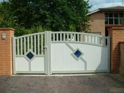 Ворота, калитки и двери, изготовление проект бесплатно.