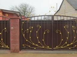 Ворота откатные, распашные, секционные, гаражные, утепленные