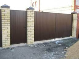 Ворота откатные, распашные, забор