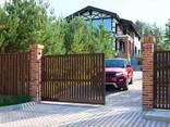 Откатные ворота - индивидуальный просчёт, бесплатный замер по Гродно - фото 1