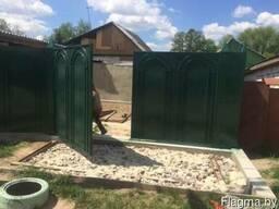 Ворота распашные - фото 2