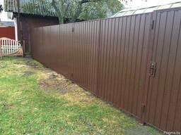 Ворота распашные - фото 5