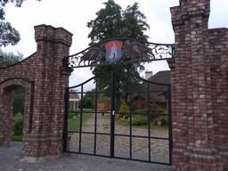 Ворота распашные, кованые