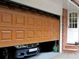 Ворота секционные гаражные Alutech Trend - фото 3