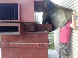 Воздухонагревательная печь УВН 275 на древесных отходах