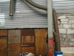 Воздуховоды б/у гибкие и цинк, 240мм, 250,350.