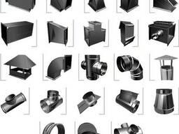 Воздуховоды и фасонные изделия из оцинкованной стали - фото 2