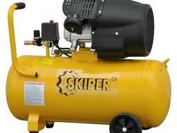 Воздушный компрессор Skiper AR70V (до 440 л/мин, 8 атм, 70 л, 230 В, 2.2 кВт)
