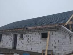 Возведение крыш, ремонт крыш, утепление.