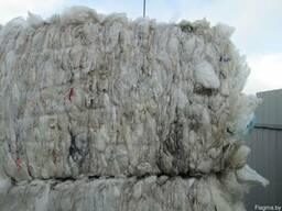 Вторичное сырье-полиэтилен низкого давления прозрачный (ПНД)