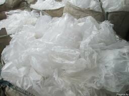 Вторичное сырье - полиэтилен высокого давления прозрачный