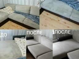 Выездная химчистка мягкой мебели и ковров.