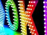 Светодиодные вывески и объемные буквы - пиксельные RGB - фото 1