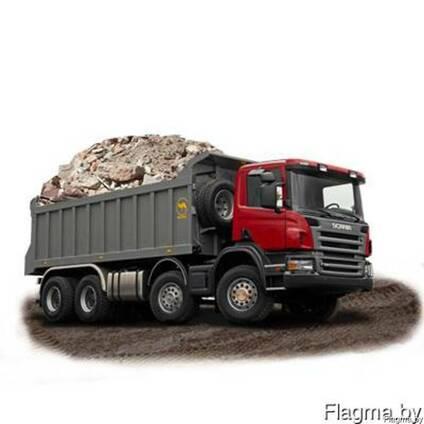 Вывоз мусора и грунта самосвалом 10 20 25 30 тонн