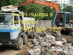 Вывоз мусора любого типа в Витебске. Самосвалами: 10 и 20 т!