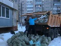 Вывоз мусора самосвалом 10т.